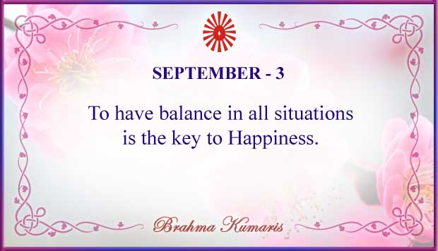 Thought For The Day September 3
