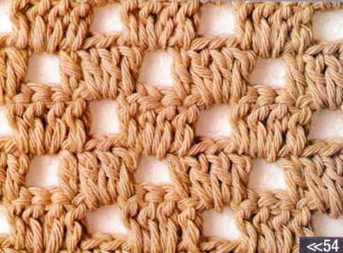 Patrón #1752: Punto Calado a Crochet
