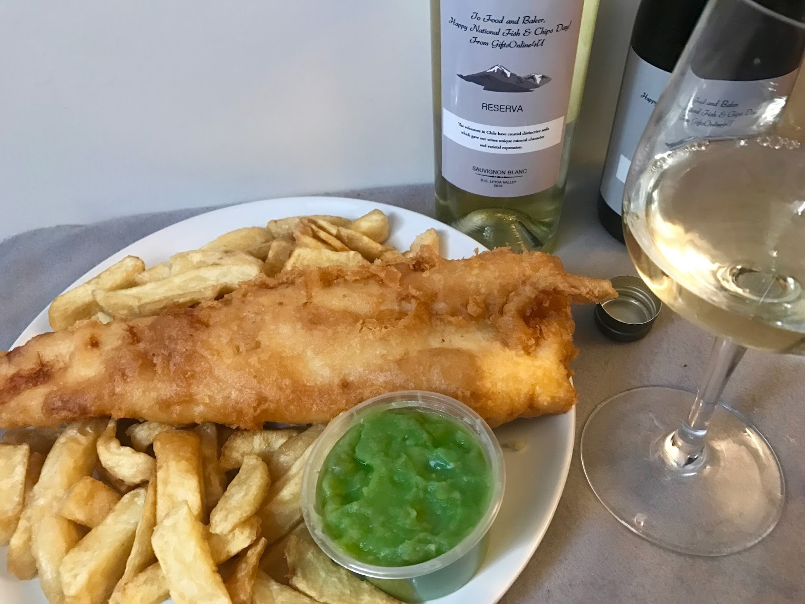 d267f19ebd6 Friday 1st June 2017 marked National Fish and Chip Day, and what better way  to celebrate that than having the largest cod and chips that the restaurant  can ...