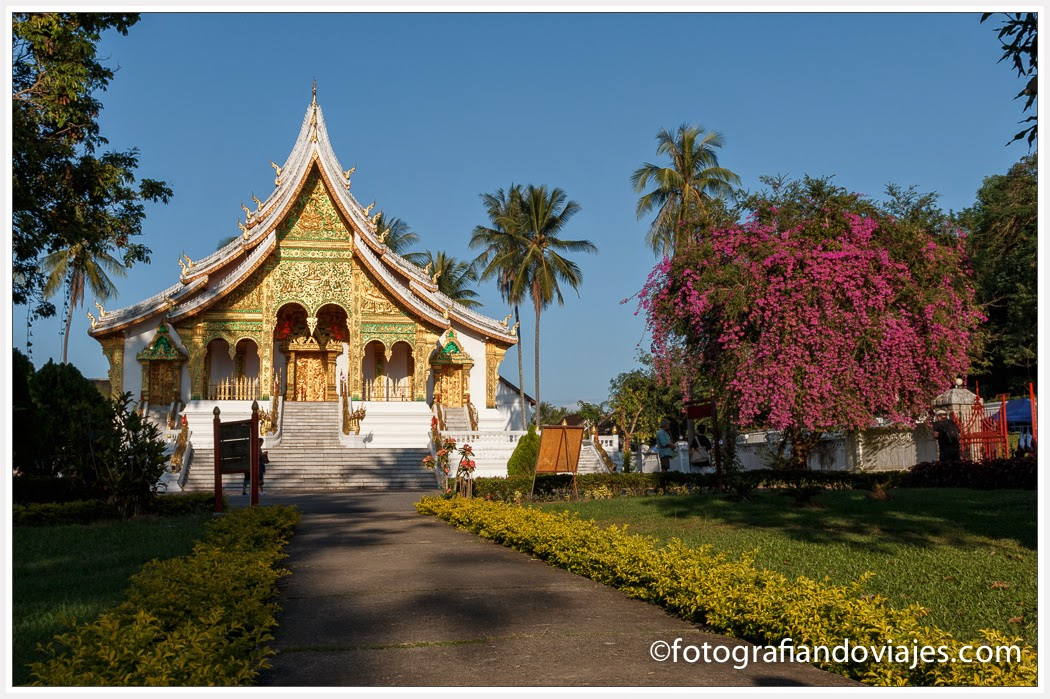 Wat Ho Pha Bang en el Palacio Real de Luang Prabang