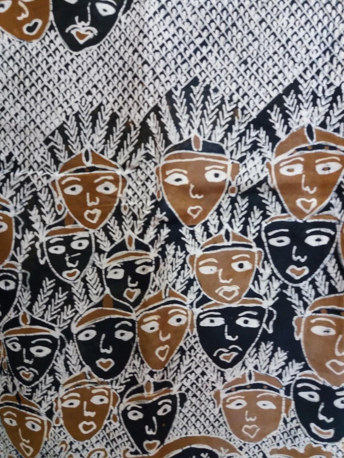 del ondel motif batik Gobang