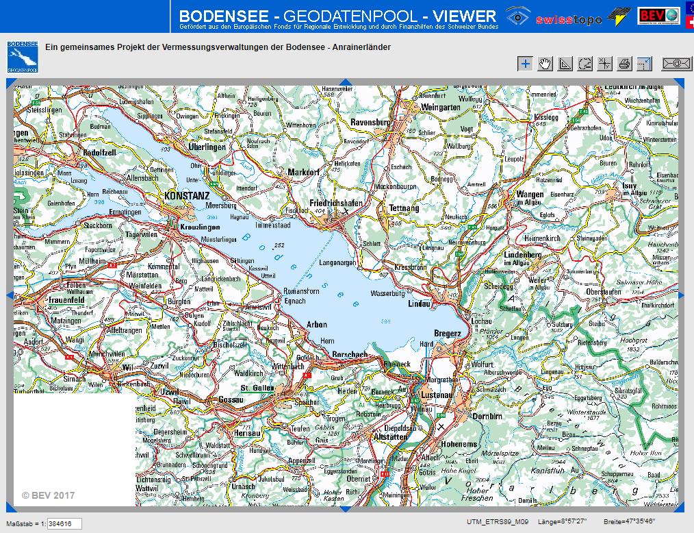 Bodensee Karte Schweiz.Zeitreisefuhrer Vorarlberg Bodensee Kostenloser