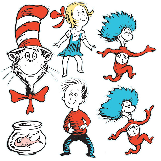Doodlecraft green eggs and other dr seuss day ideas for Cat in the hat fish