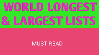 largest longest highest and smallest in world pdf