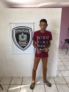 Polícia cumpre mandado de prisão contra homem acusado de roubos em Cubatí e São Vicente do Seridó
