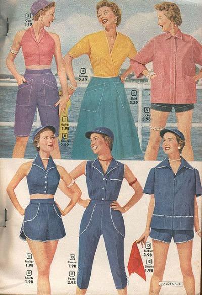 Halter Tops Alden's Spring/Summer 1954 Catalog