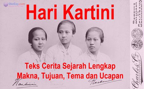 Hari Kartini: Teks Cerita Sejarah Lengkap Makna, Tujuan, Tema dan Ucapan