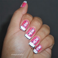 Unhas Decoradas - All Star - Pink
