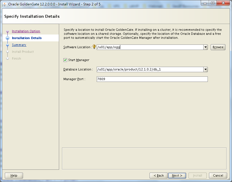 How to Install and Setup Oracle GoldenGate 12c Environment on Linux