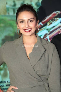 Huma Qureshi Stills At Jolly LLB 2 Press Meet 13.jpg