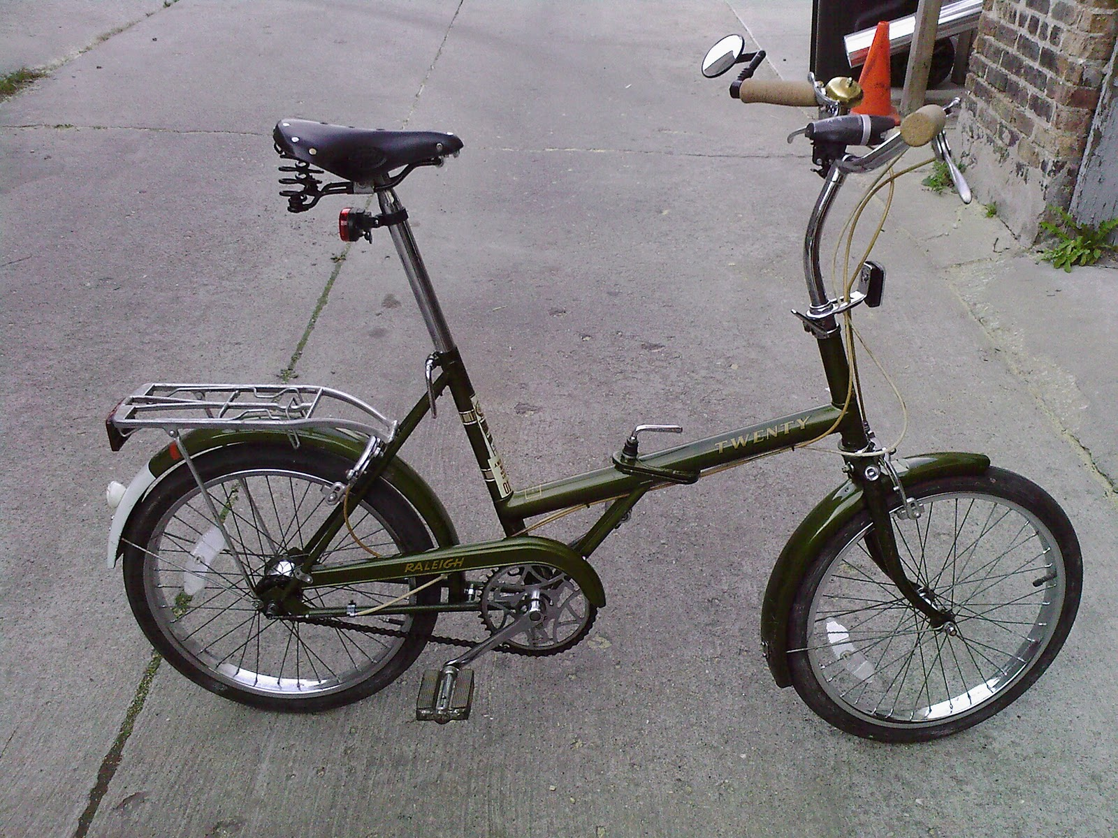Chicargobike A Raleigh Twenty Folding Bike