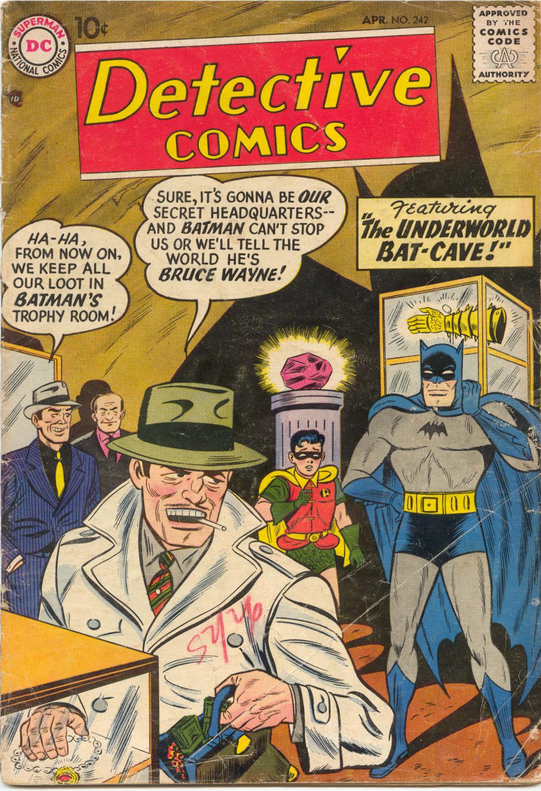 Read online Detective Comics (1937) comic -  Issue #242 - 1