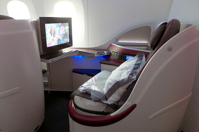 Business Class Seats Qatar Airways
