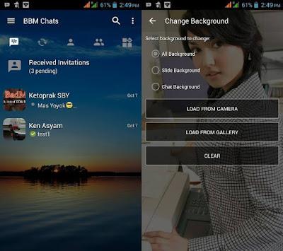 Download BBM MOD Change Background v3.0.1.25 Apk Terbaru