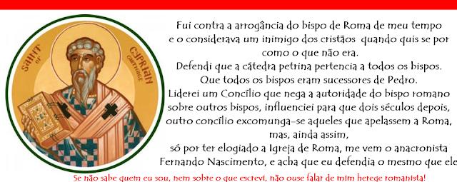 Cipriano de Cartago x Fernando Nascimento