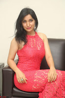 Sakshi Kakkar in Red Legsplit Sleeveless Gown at Dare movie Press meet ~  Exclusive 059.JPG