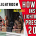 How to install presets in Lightroom cc 2019