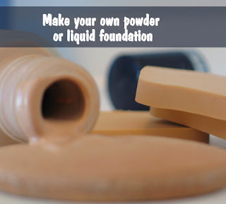 DIY foundation recipe for both powder and liqu
