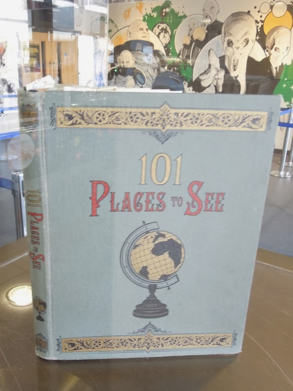 dr Who Clara Oswald 101 Places to See book