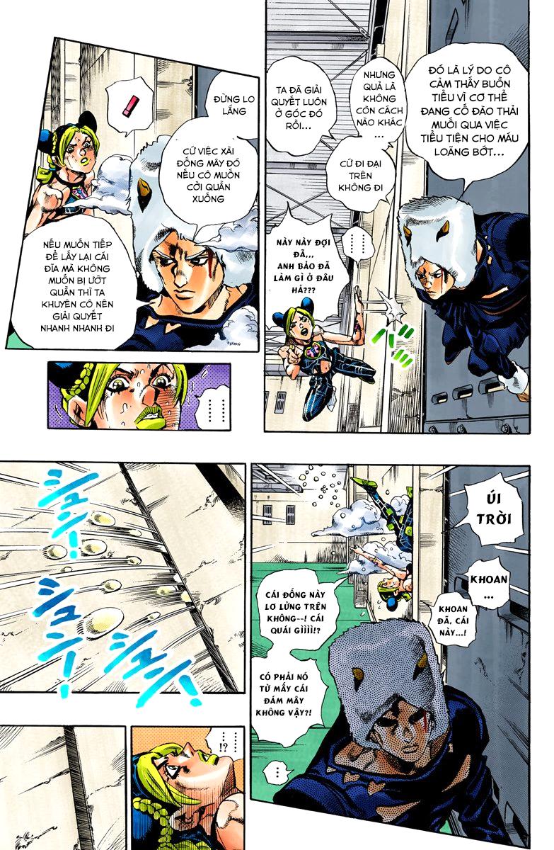 JoJo's Bizarre Adventure Chap 637 - Trang 10
