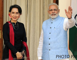 India and Myanmar agreed for a close coordination to ensure security: Modi