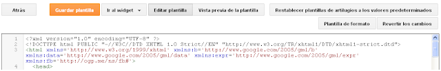 tutorial de plantillas para blogger