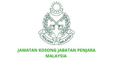 Jawatan Kosong Jabatan Penjara Malaysia 2021