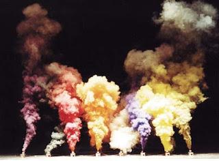 Bonitos humos de colores