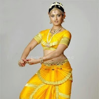 Anushka shetty hot in classical dress