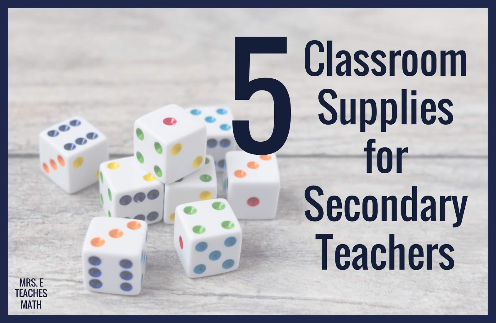 This list of must have classroom supplies for teachers is everything you need!  I love having everything on hand for games and activities.   Organizing all of the needed supplies is important too.