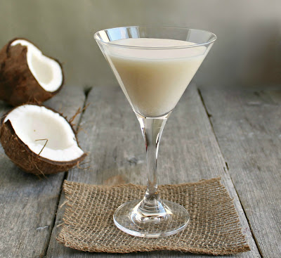 Lime in the Coconut Martini
