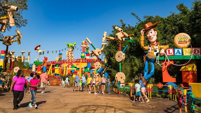 Nova área de Toy Story (Toy Story Land)