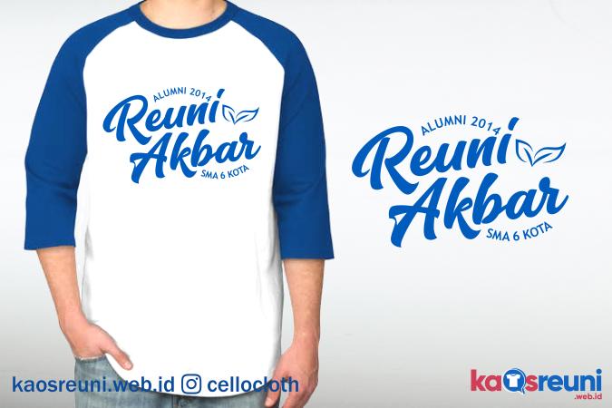 Sablon Kaos Reuni Akbar Raster CMYK - Kaos Reuni Online