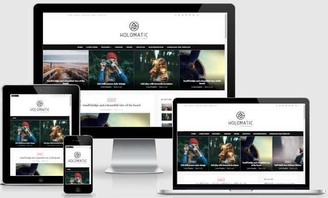 Holomatic Responsive Blogger Templates