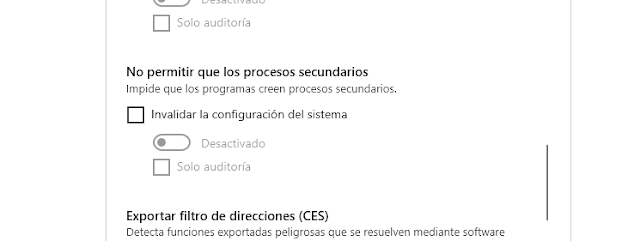 Bloquear aplicaciones Office imagen
