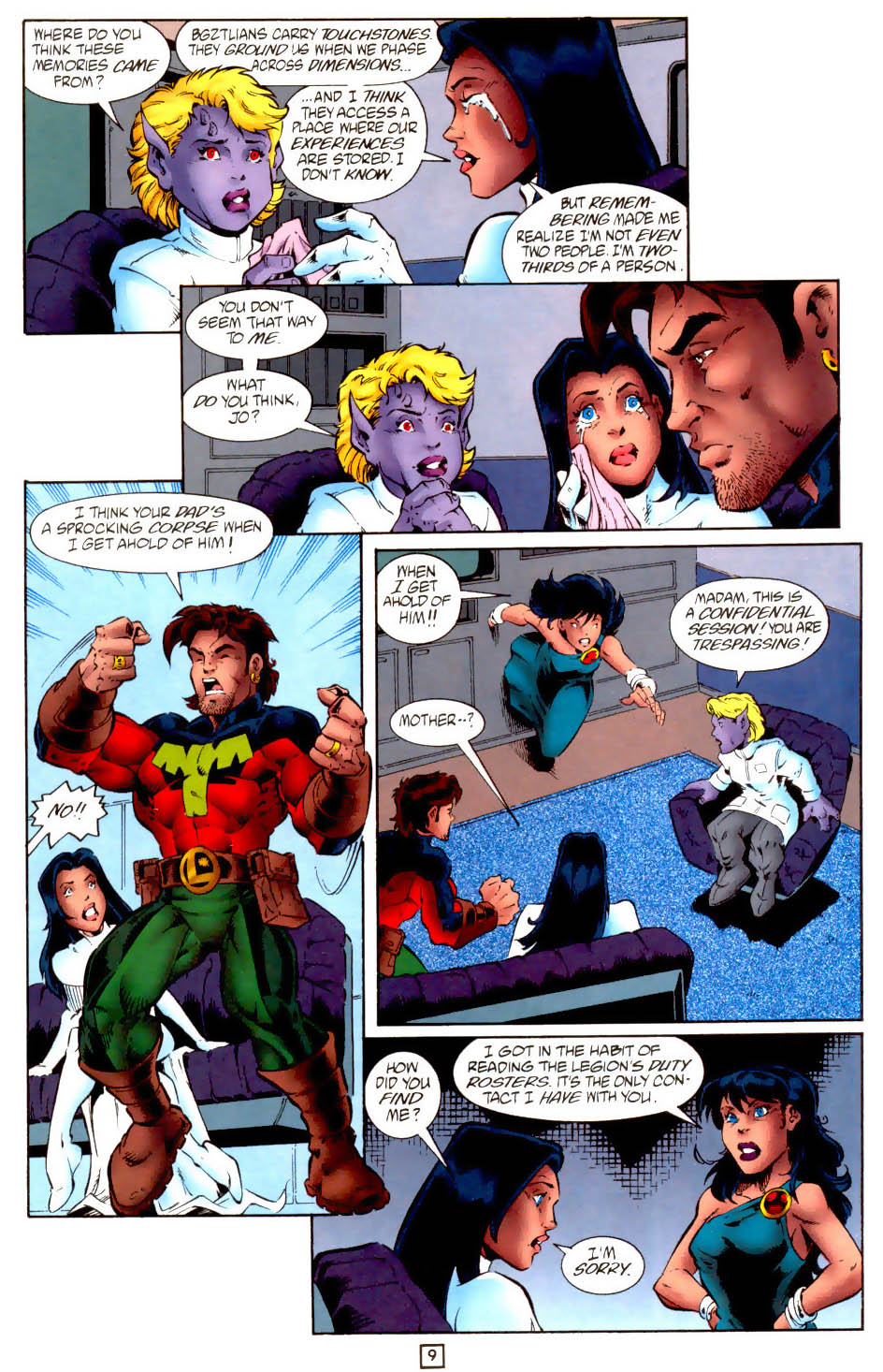 Legion of Super-Heroes (1989) 102 Page 21