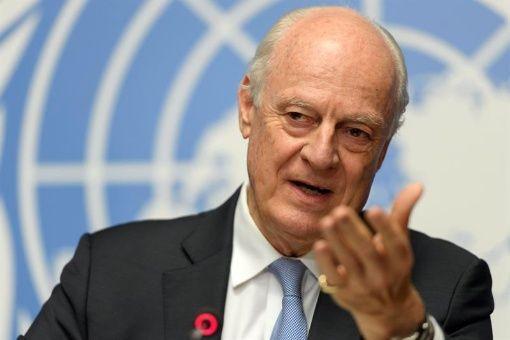 Enviado de la ONU en Siria espera llamar a acuerdo en junio