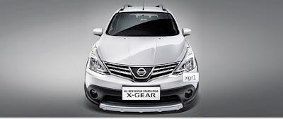 X-Gear Silver Depan
