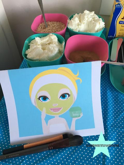 SPA-Geburtstag-Ideen-Gesichtsmaske