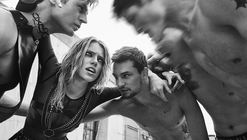 fight club: pyper, luz, noma, taylor, christopher and ryan by an le for vogue ukraine june 2016