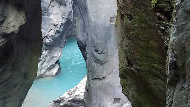 A mysterious natural place near Lake Como in North Italy