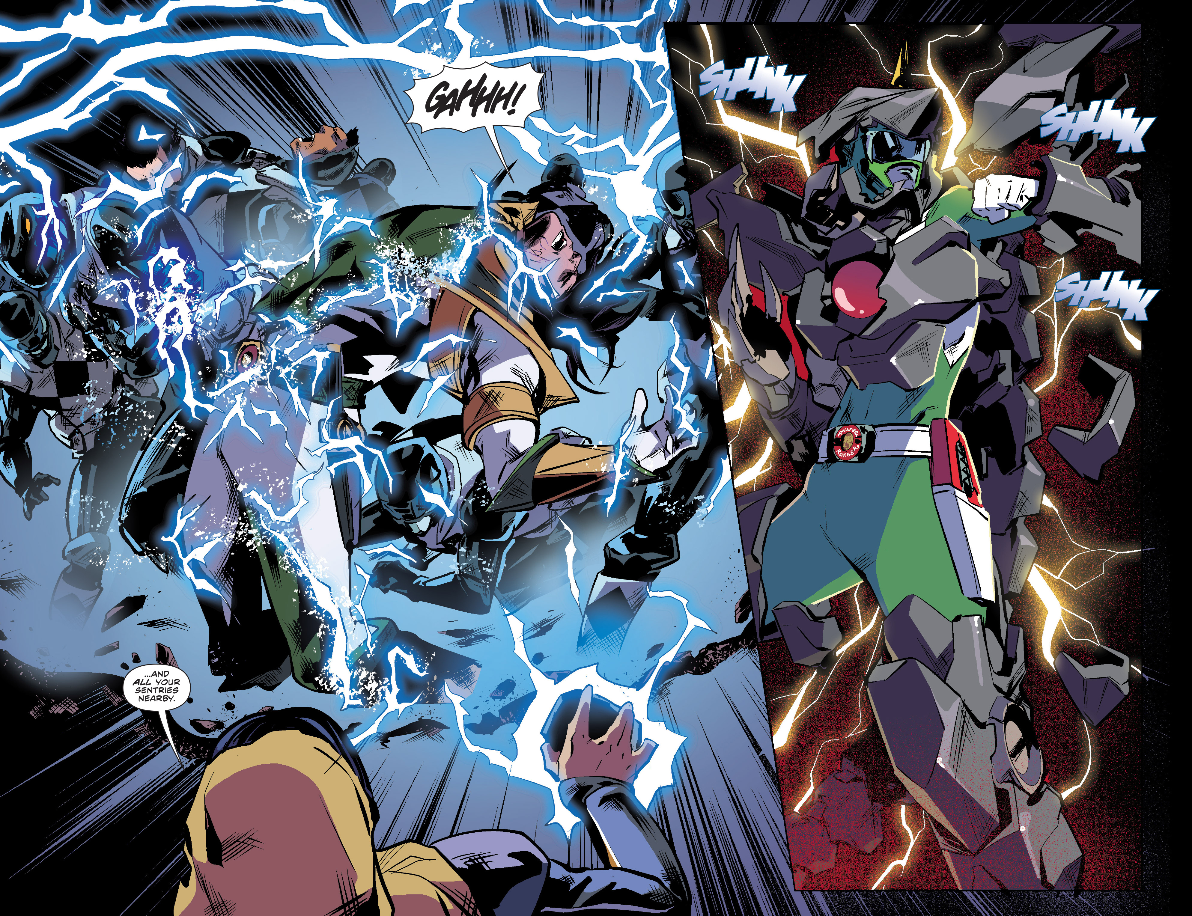 Read online Mighty Morphin Power Rangers comic -  Issue #16 - 5
