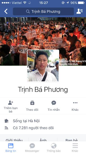 """Theo chân mẹ ruột là Cấn Thị Thêu, Trịnh Bá Phương đang dần trở thành """"thủ lĩnh dân oan"""""""