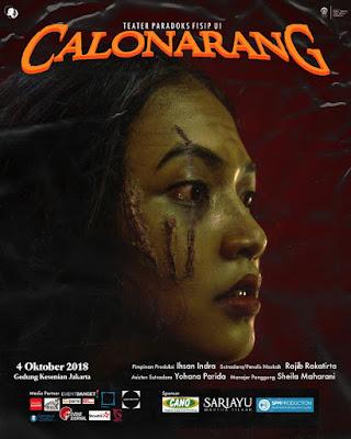 Gelar Pentas Calon Arang, Teater Paradoks UI Bawa Konsep Monstrous Feminine