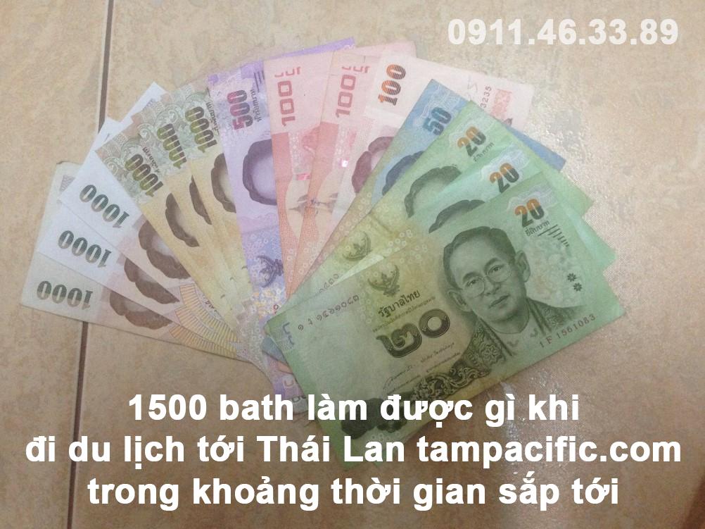 1500 bath làm được gì khi đi du lịch tới Thái Lan trong khoảng thời gian sắp tới
