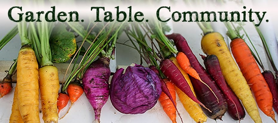 Garden. Table. Community.
