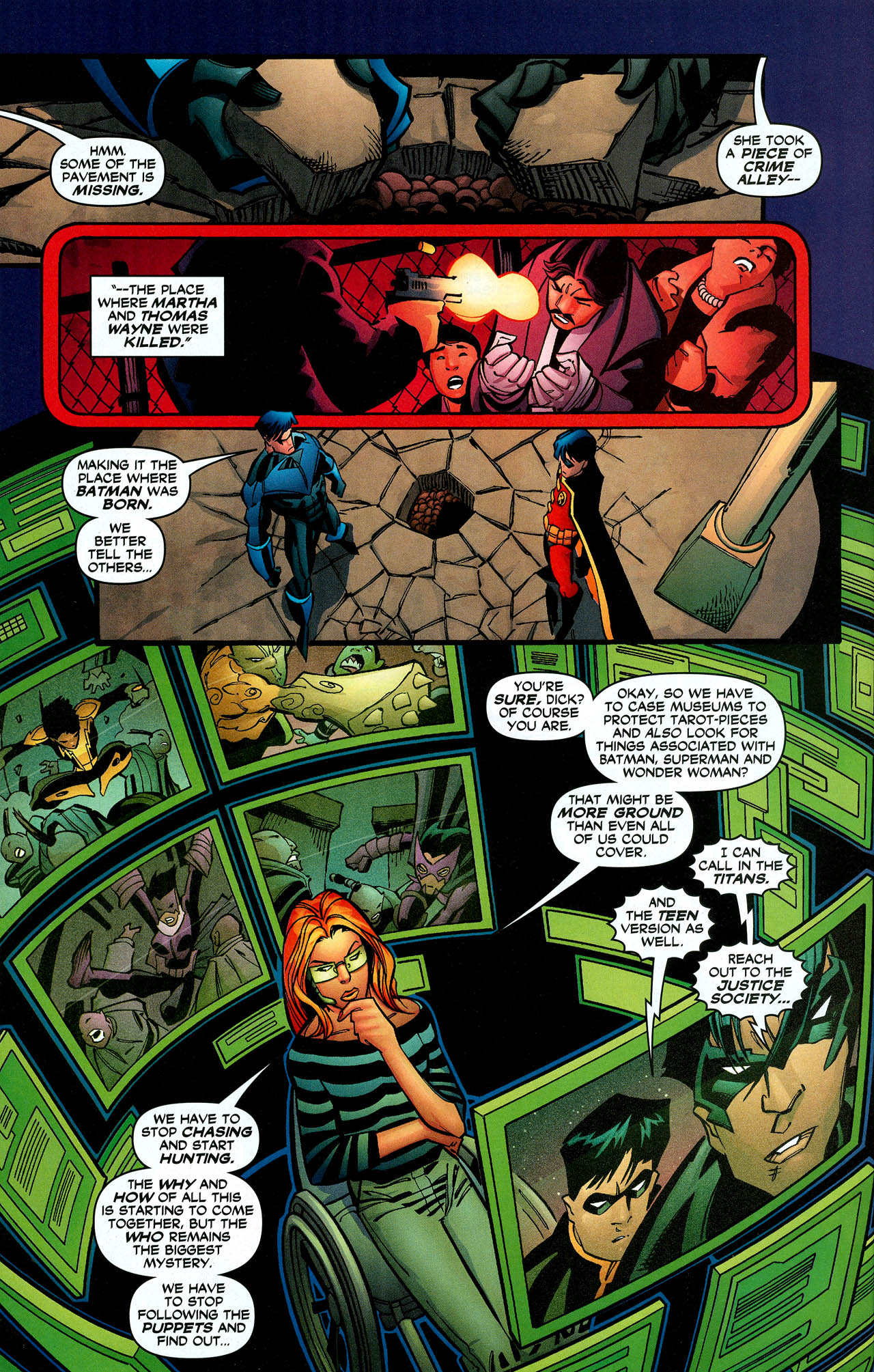 Read online Trinity (2008) comic -  Issue #10 - 28