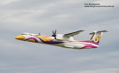 Bombardier Q400 NextGen, De Havilland Canada DHC-8-402Q Dash 8, HS-DQB, Nok Air