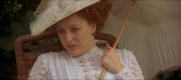 gillian anderson in house of mirth 2000