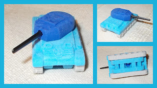 Automatic Pistol; Binoculars; Browning .45 Auto.; Eraser Pistol; Eraser Set; Eraser Tank; Erasers; Flying Tiger; Iwako; Pencil Earsers; Pencil Rubbers; Rubber Erasers; Rubber Tank Model; Rubbers; Small Scale World; smallscaleworld.blogspot.com; Stationary; Tank Model; Tank Toy; The Works; Tiger Stores; WHSmith;